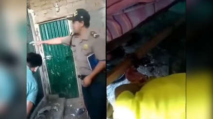 Video   Así rescataron a niño que estaba encadenado a una cama de madera