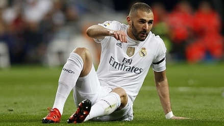 Karim Benzema no entrenó con normalidad previo al partido de Champions League