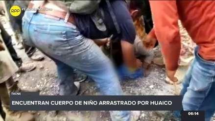 Mirave | Entierran restos de niño de 4 años arrastrado por huaico