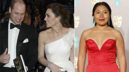 El príncipe William se reunió con Alfonso Cuarón y el elenco de
