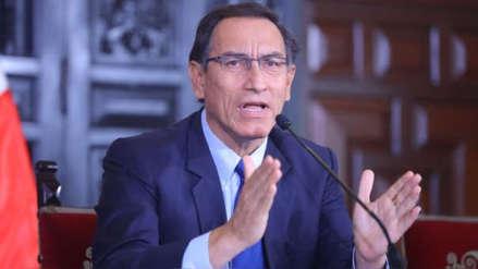 Vizcarra descartó haber participado en temas financieros de Peruanos por el Kambio
