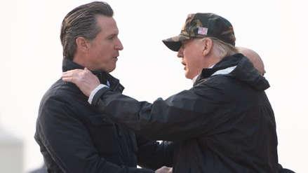 El gobernador de California desafía a Donald Trump y retira las tropas de la frontera
