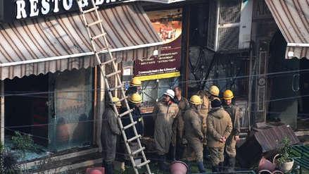 India | Al menos 17 muertos en un incendio en un hotel de Nueva Delhi