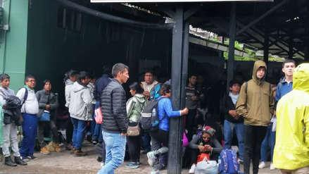 Paro agrario: turistas quedaron varados en Machu Picchu por bloqueo de línea férrea
