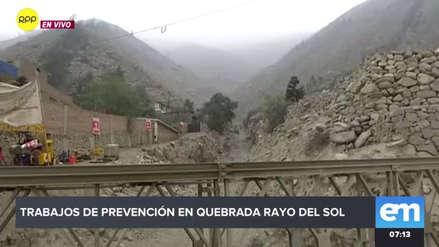 En peligro: iglesia y varias casas con cimientos debilitados están a metros de quebrada en Chosica