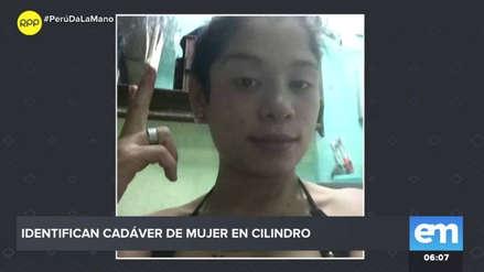 Identifican el cadáver de mujer que fue hallado dentro de un cilindro en Chincha