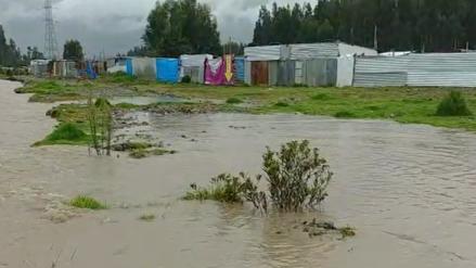 Junín: Desborde de río Mantaro dejó 50 viviendas afectadas