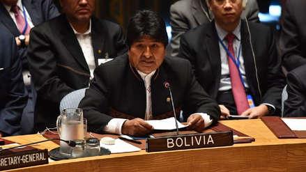 Juzgado de Bolivia admite una demanda en contra de la reelección de Evo Morales