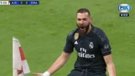 Real Madrid vs. Ajax: así fue la gran definición de Karim Benzema tras jugada de Vinicius