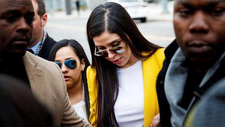"""""""Hoy no voy a llorar"""": Así reaccionó la esposa del Chapo Guzmán al escuchar el veredicto"""