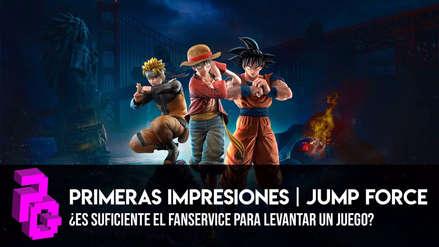 Jump Force: Primeras Impresiones