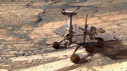 La NASA alista el adiós para el robot Opportunity en Marte