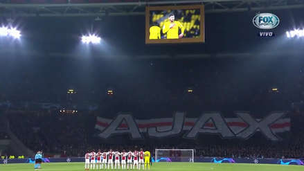 El emotivo homenaje a Emiliano Sala en la previa del Real Madrid vs. Ajax