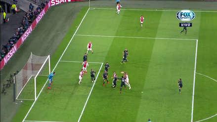 El VAR anuló el gol del Ajax ante Real Madrid por la Champions League