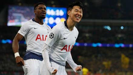 Tottenham goleó 3-0 a Borussia Dortmund en Wembley por los octavos de final de la Champions League