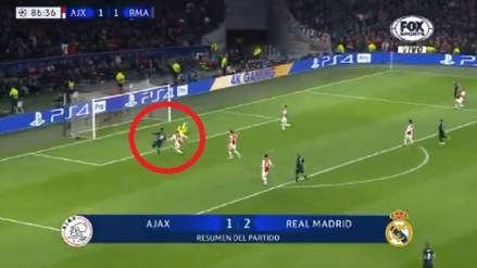 Real Madrid vs. Ajax: Marco Asensio anotó en primera tras gran jugada colectiva