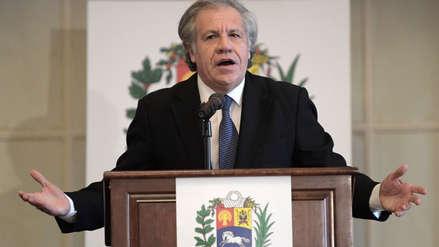 Secretario de la OEA afirma que la salida de Nicolás Maduro es la