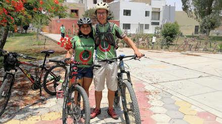 14 de febrero: la historia de Paco y Miriam, los esposos que pedalean juntos hace 20 años