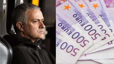 Manchester United reveló la cifra millonaria que gastó para despedir a José Mourinho