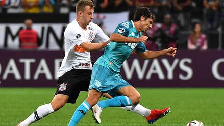 Corinthians empató 1-1 con Racing Club por la primera fase de la Copa Sudamericana