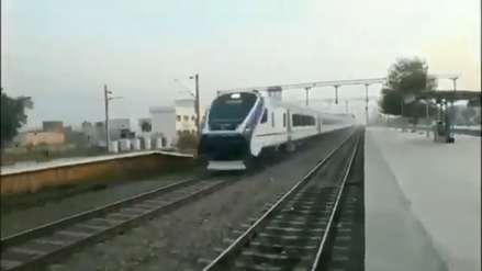 ¿Un tren ultrarrápido en India? Era en realidad un video a velocidad 2X
