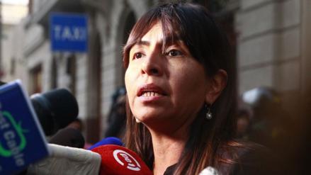 Giuliana Loza aseguró que el equipo de fiscales no programó interrogatorios sobre Keiko Fujimori
