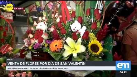 Estos son los precios de las flores para este día de San Valentín