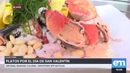 San Valentín | 'Torbellino del amor' y  'Amor, no me dejes': Las opciones culinarias para celebrar esta fecha