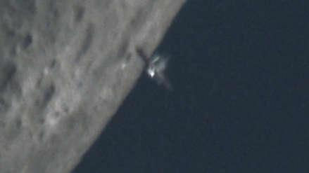 Animación | Así se ve el tránsito lunar de la Estación Espacial Internacional
