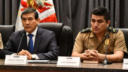 Suboficial Elvis Miranda a policías: