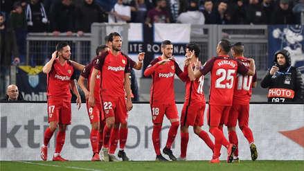 Sevilla ganó 1-0 a Lazio por los dieciseisavos de final de la Europa League
