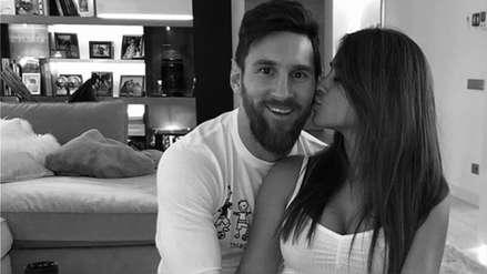 Lionel Messi: el romántico mensaje para Antonela Roccuzzo en el Día del Amor
