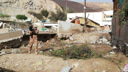 Tacna | El desolador panorama de Ilabaya, el distrito afectado por la caída de un huaico