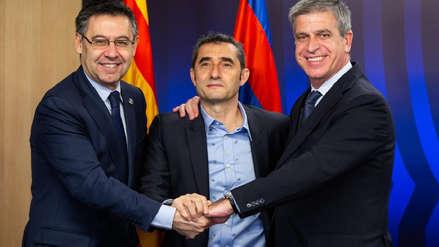 Barcelona renovó contrato a Ernesto Valverde: