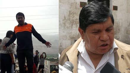 Insólito | Autoridades regionales de Arequipa enfrentadas en plena emergencia