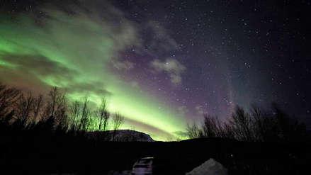 Aurora boreal deslumbra el cielo de Finlandia [VIDEO]