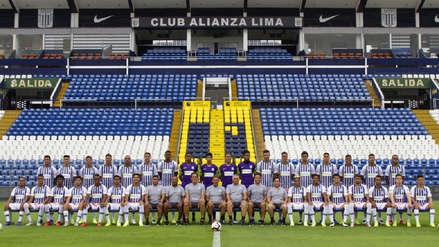 Alianza Lima: esta es la foto oficial de la plantel blanquiazul 2019 para afrontar la Liga 1 y Copa Libertadores