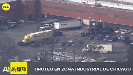 Un tiroteo dejó cinco muertos en zona industrial de Chicago