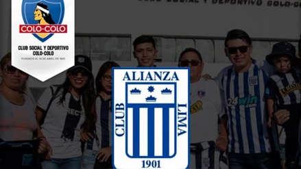 Alianza Lima: Colo Colo envió mensaje fraterno por el aniversario blanquiazul
