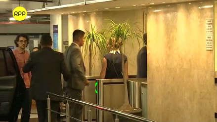 Jorge Barata llegó al consulado para la firma del acuerdo de colaboración eficaz con Odebrecht