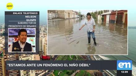 """Senamhi: """"Estamos en un evento de El Niño de nivel ligero"""""""