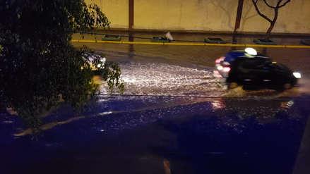 Chiclayo soportó una intensa lluvia durante la madrugada