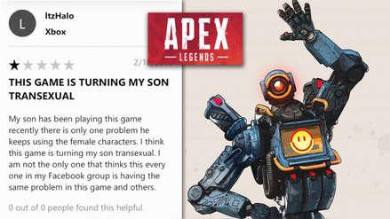 Padre de familia asegura que videojuego Apex Legends está volviendo a su hijo transexual