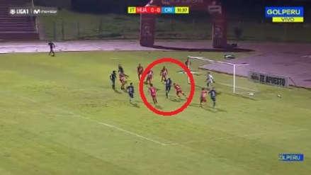 Sporting Cristal: así fue el gol de Omar Merlo ante Sport Huancayo