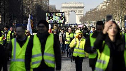 Francia vive un nuevo fin de semana de protestas de los 'chalecos amarillos'