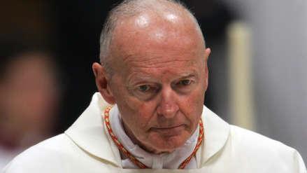 El Vaticano expulsó a excardenal estadounidense acusado de abusos sexuales