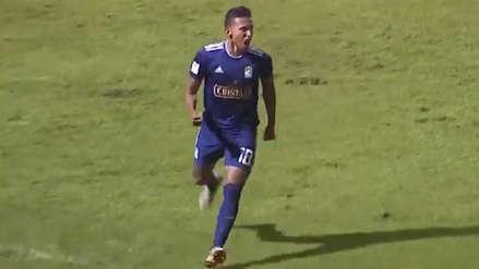 Christofer Gonzales amplió la ventaja de Sporting Cristal sobre Sport Huancayo con este gol