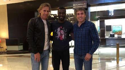 Ricardo Gareca se reunió con Christian Ramos en Arabia Saudita