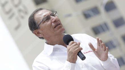 Ipsos | Aprobación de Martín Vizcarra cae cinco puntos y su desaprobación bordea el 32%