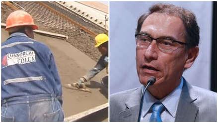 CyM Vizcarra consorció con empresa del 'Club de la Construcción' por represa Pillones